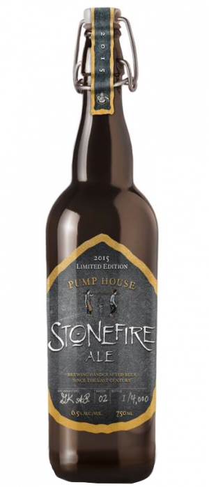Stonefire Ale by Pump House Brewery in New Brunswick, Canada