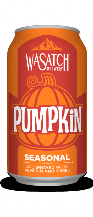 Pumpkin Ale by Wasatch Brewery in Utah, United States