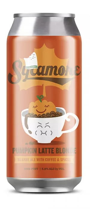 Pumpkin Latte Blonde by Sycamore Brewing in North Carolina, United States