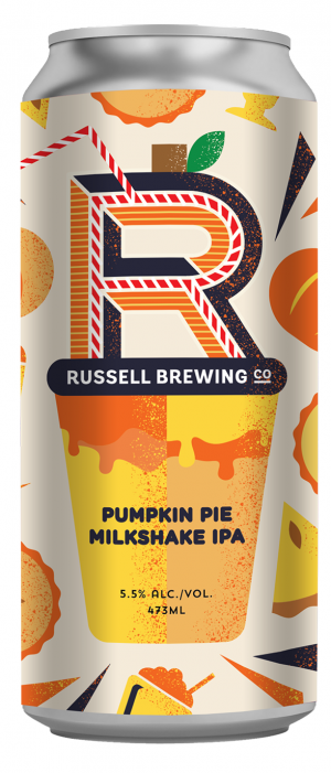 Pumpkin Pie Milkshake IPA by Russell Brewing Company in British Columbia, Canada