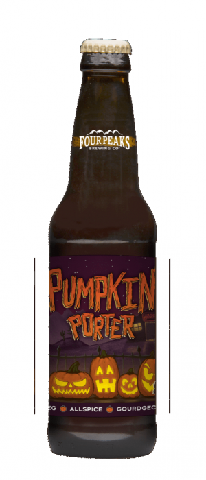 Pumpkin Porter by Four Peaks Brewing Company in Arizona, United States