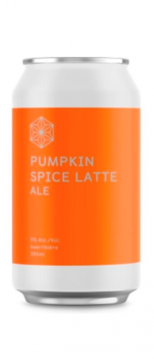 Pumpkin Spice Latte Ale by Spectrum Beer Company in British Columbia, Canada