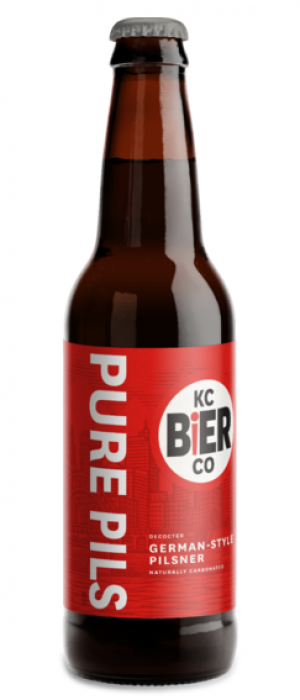 Pure Pils by Kansas City Bier Company in Missouri, United States