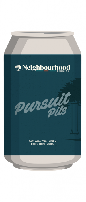 Pursuit Pils by Neighbourhood Brewing in British Columbia, Canada