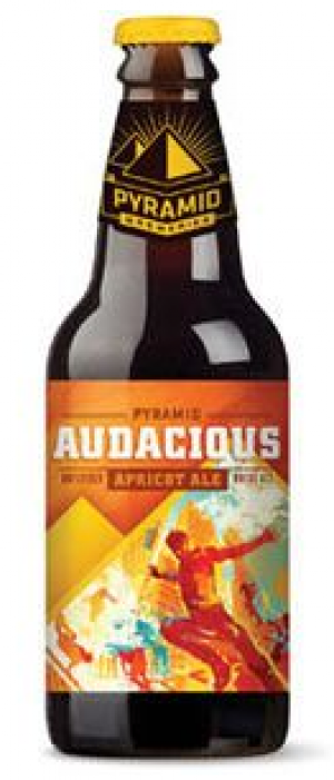 Audacious Apricot Ale by Pyramid Breweries in Washington, United States