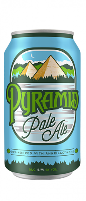 Pyramid Pale Ale by Pyramid Breweries in Washington, United States