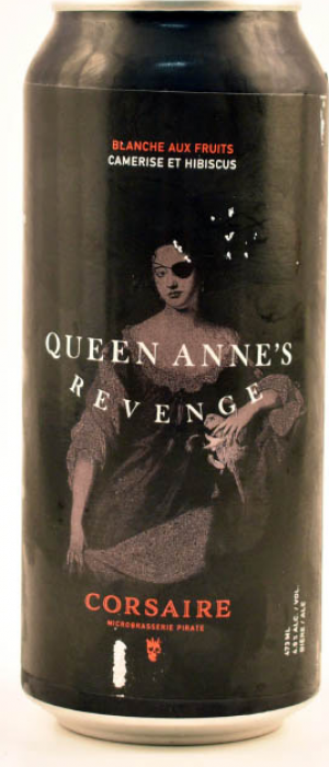 Queen Anne's Revenge by Corsaire Microbrasserie in Québec, Canada