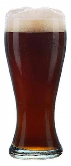 Rapture Fusion Brown Ale by Rabbit Hole Brewing in Texas, United States