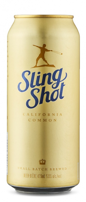 Slingshot California Common by Radical Road Brewing Company in Ontario, Canada