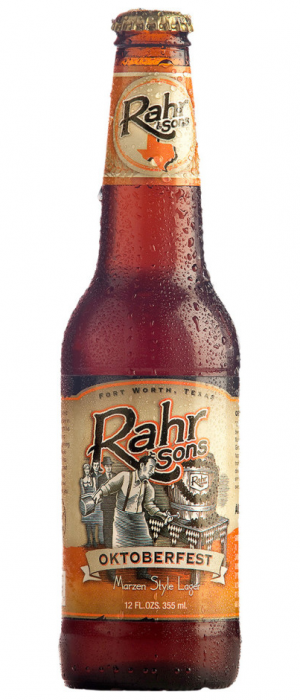 Oktoberfest by Rahr & Sons Brewing Co. in Texas, United States