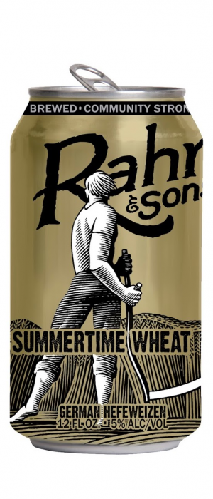 Summertime Wheat by Rahr & Sons Brewing Co. in Texas, United States