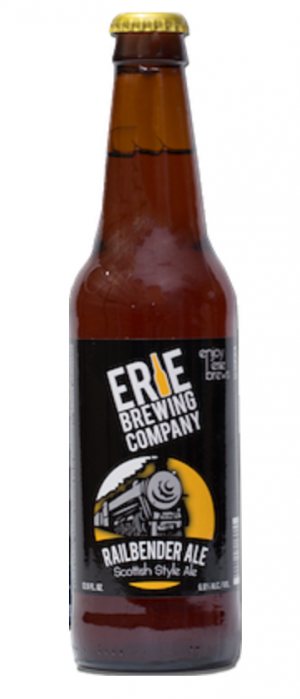 Railbender Ale by Erie Brewing Company in Pennsylvania, United States