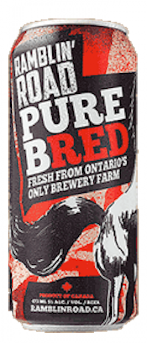 Pure Bred by Ramblin' Road Brewery Farm in Ontario, Canada