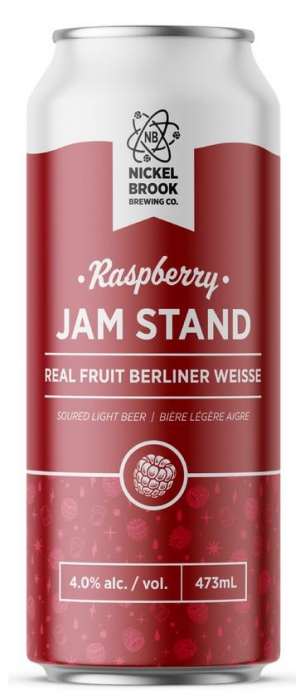Raspberry Jam Stand by Nickel Brook Brewing Company in Ontario, Canada