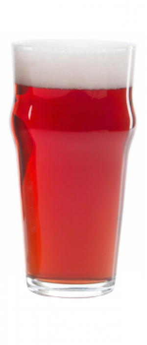Raspberry Sour Smoothie by Town Square Brewing Co. in Alberta, Canada