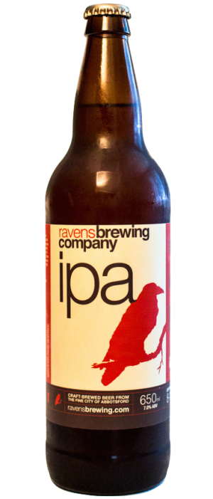 IPA by Ravens Brewing Company in British Columbia, Canada