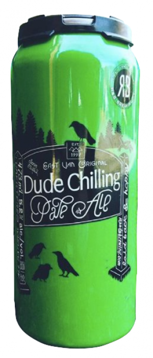 Dude Chilling Pale Ale by R&B Brewing in British Columbia, Canada
