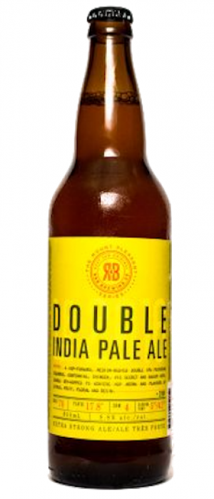Mt. Pleasant Double IPA by R&B Brewing in British Columbia, Canada