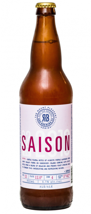 Mt. Pleasant Saison