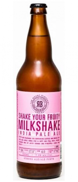 Shake Your Fruity Milkshake IPA by R&B Brewing in British Columbia, Canada