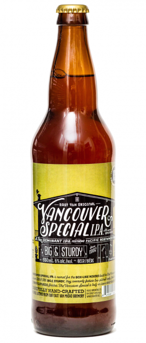 Vancouver Special IPA by R&B Brewing in British Columbia, Canada