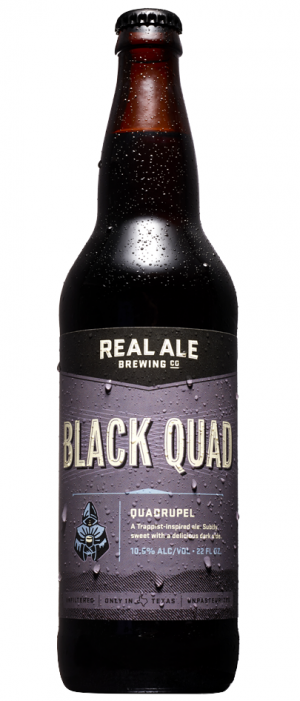 Black Quad by Real Ale Brewing Company in Texas, United States