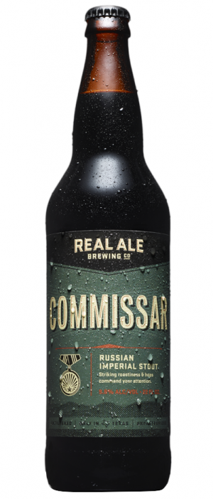 Commissar by Real Ale Brewing Company in Texas, United States