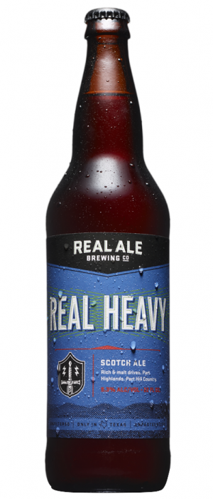Real Heavy by Real Ale Brewing Company in Texas, United States