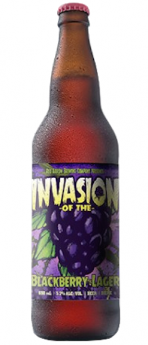 Invasion of the Blackberry Lager by Red Arrow Brewing Company in British Columbia, Canada