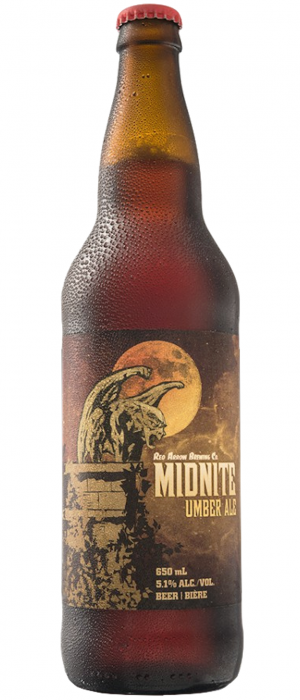 Midnite Umber Ale by Red Arrow Brewing Company in British Columbia, Canada