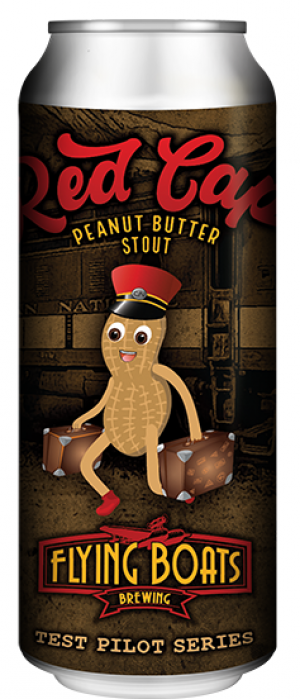 Red Cap Peanut Butter Stout by Flying Boats Brewing in New Brunswick, Canada