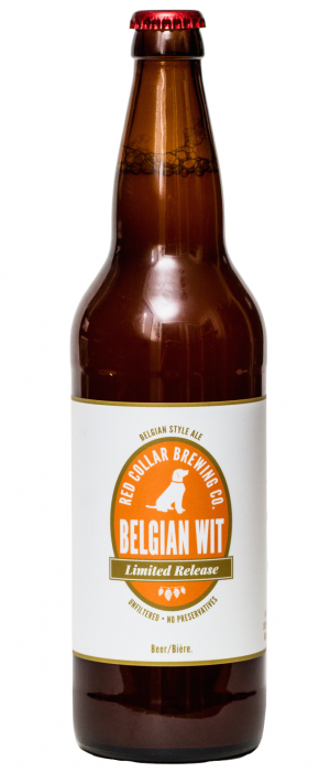 Belgian Witbier by Red Collar Brewing Company in British Columbia, Canada