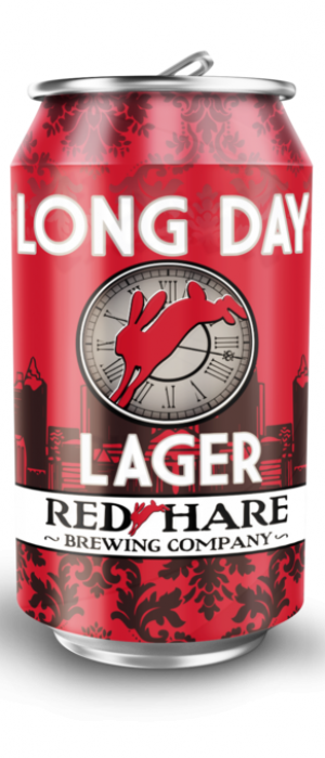 Long Day Lager by Red Hare Brewing Company in Georgia, United States