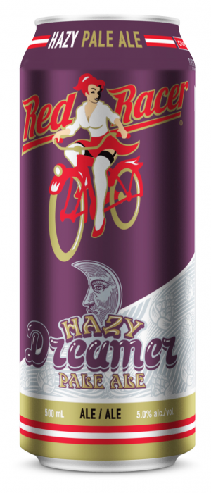 Red Racer Hazy Dreamer Pale Ale by Central City Brewers & Distillers in British Columbia, Canada