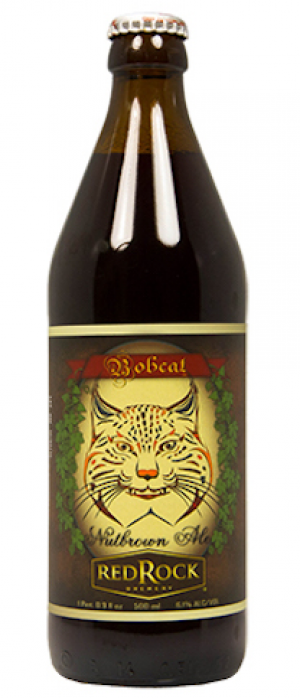 Bobcat Nutbrown by Red Rock Brewery in Utah, United States