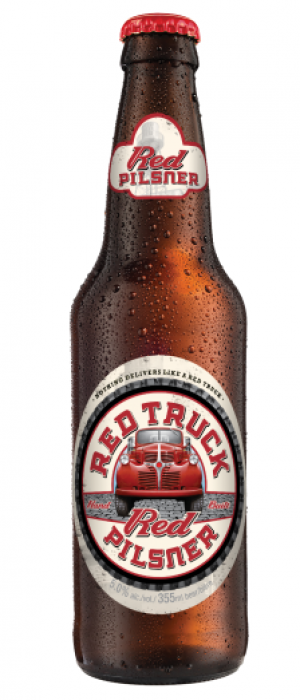 Red Truck Red Pilsner by Red Truck Beer Company in British Columbia, Canada