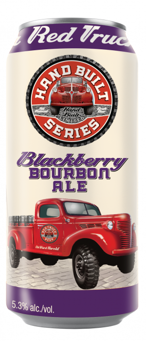 Red Truck Blackberry Bourbon Ale by Red Truck Beer Company in British Columbia, Canada