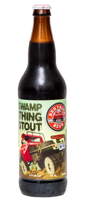 Swamp Thing Stout by Red Truck Beer Company in British Columbia, Canada