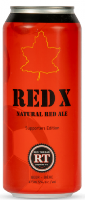 Red X by Red Thread Brewing Co. in Ontario, Canada
