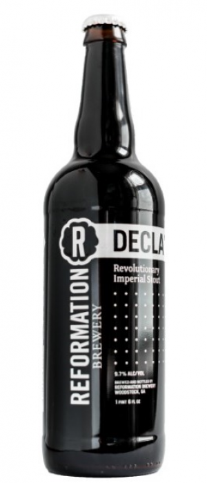 Declaration by Reformation Brewery in Georgia, United States