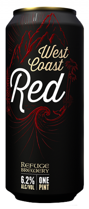 West Coast Red by Refuge Brewery in California, United States