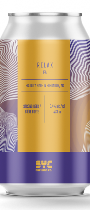 Relax by S.Y.C. Brewing Co. in Alberta, Canada