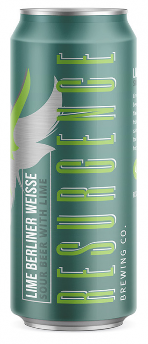 Lime Berliner Weisse by Resurgence Brewing Company in New York, United States