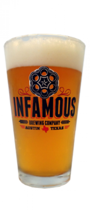 Resurrection (AKA Jesus Juice) by Infamous Brewing Company in Texas, United States