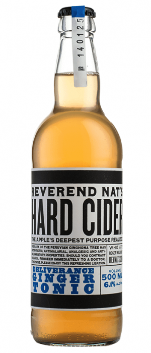 Deliverance Ginger Tonic by Reverend Nat's Hard Cider in Oregon, United States