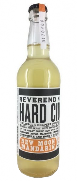 New Moon Mandarin by Reverend Nat's Hard Cider in Oregon, United States