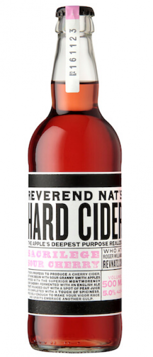 Sacrilege Sour Cherry by Reverend Nat's Hard Cider in Oregon, United States