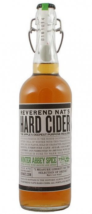 Winter Abbey Spice by Reverend Nat's Hard Cider in Oregon, United States