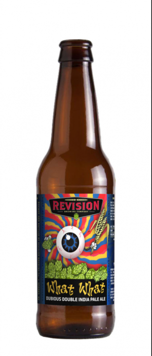 What What Double IPA by Revision Brewing Company in Nevada, United States