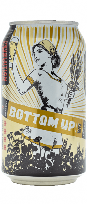 Bottom Up Wit by Revolution Brewing in Illinois, United States